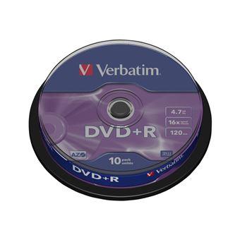 Verbatim Spindle 10 DVD+R 16X