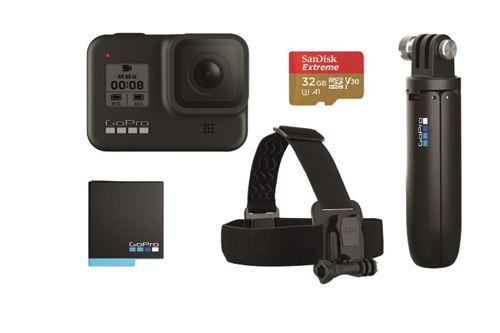 Pack Videocámara Sport GoPro Hero8 Black