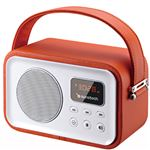 Radio Portátil Bluetooth Sunstech RPRBT450 Naranja