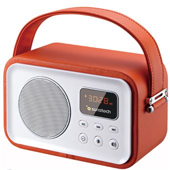 Radio Bluetooth Sunstech RPRBT450 Naranja