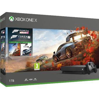 Consola  Xbox One X  1 TB – Forza Horizon 4 + Forza Motorsport 7