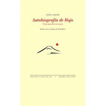 Autobiografía de Rojo. Una novela en verso