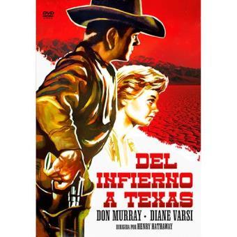 Del infierno a Texas - DVD