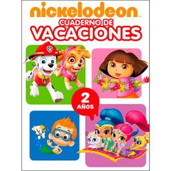 Nickelodeon - Cuaderno de vacaciones - 2 años