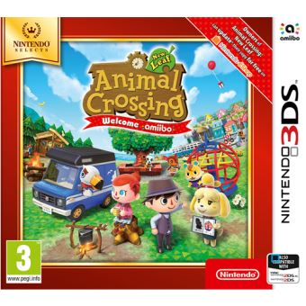 Animal Crossing : New Leaf Welcome Amiibo Nintendo 3DS