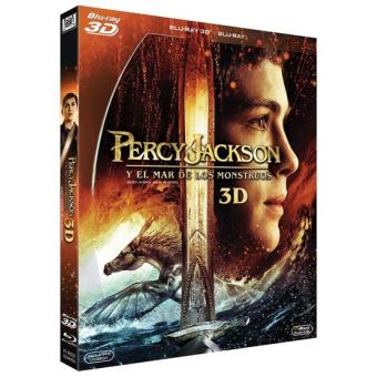 Percy Jackson y el mar de los monstruos - Blu-Ray + 3D