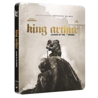 Rey Arturo: La leyenda de Excalibur - Steelbook Blu-Ray + 3D