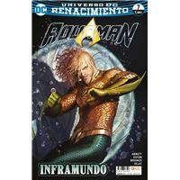 Aquaman 21 / 7 Renacimiento. Grapa