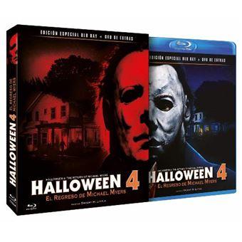 Halloween 4 - El Regreso de Michael Myers - Ed coleccionista Blu-Ray + DVD extras