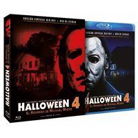 Halloween 4 - El Regreso de Michael Myers  Ed coleccionista Blu-Ray + DVD extras