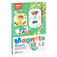 Juego magnético Estaciones Apli Kids