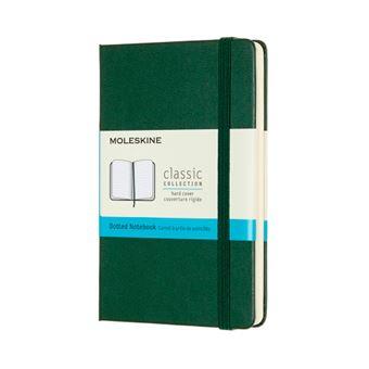 Cuaderno Moleskine Classic pocket puntos tapa dura verde mirto
