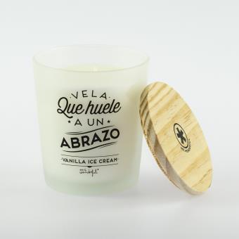 Mr Wonderful Vela que huele a un abrazo - Vanilla Ice Cream