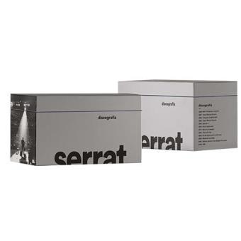 Box Set Serrat - Discografía completa en catalán - 12 CD