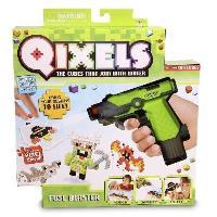 Qixels + fuse blaster