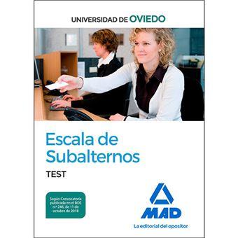 Subalternos universidad oviedo test