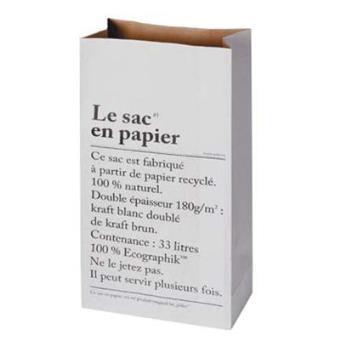 The paper bag - Le sac en papier
