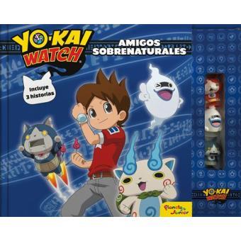 Yo-Kai Watch - Amigos sobrenaturales - Libro de cuentos con 3 figuras