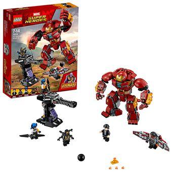 LEGO Marvel Superhéroes Incursión demoledora del Hulkbuster