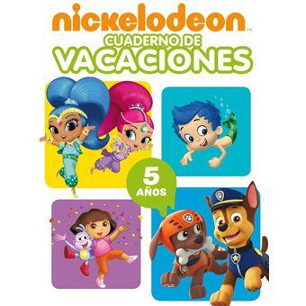 Nickelodeon - Cuaderno de vacaciones - 5 años