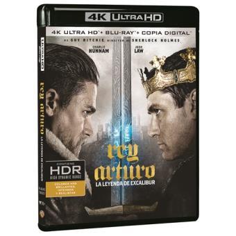Rey Arturo: La leyenda de Excalibur - UHD + Blu-Ray