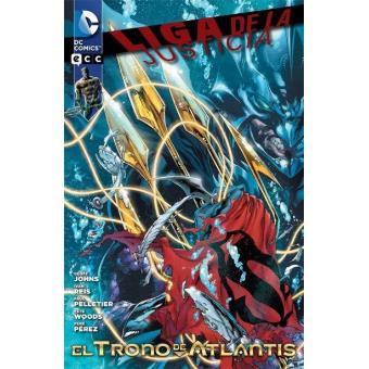 Aquaman. Liga de la Justicia. El trono de Atlantis