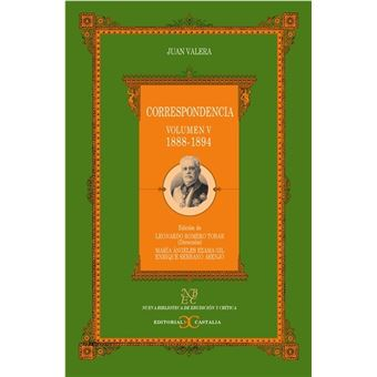 Correspondencia -  Volumen V 1888-1894