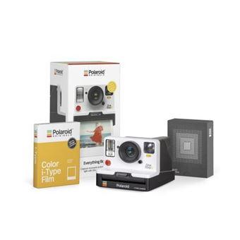 Cámara instantánea Polaroid OneStep 2VF Blanco + Película Kit