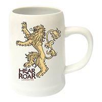 Jarra de cerámica Juego de tronos - Lema de la Casa Lannister