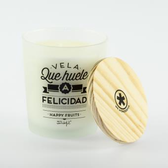 Mr Wonderful Vela que huele a felicidad - Happy Fruits