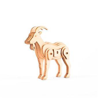 Puzle Kikkerland 3D cabra madera