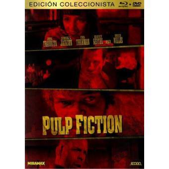Pulp Fiction -  Ed coleccionista - Blu-Ray + DVD
