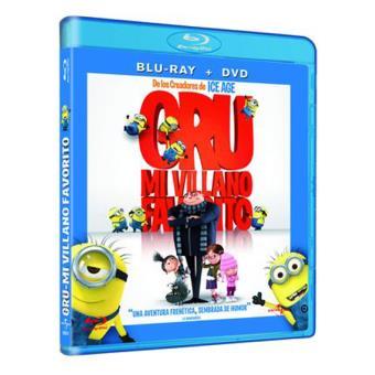 Gru, mi villano favorito - Blu-Ray + DVD
