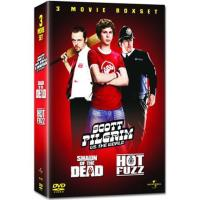 Pack Edgar Wright: Zombies Party + Arma Fatal + Scott Pilgrim contra el mundo - DVD