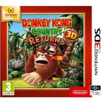 Donkey Kong Country Returns Nintendo Selects - Nintendo 3DS