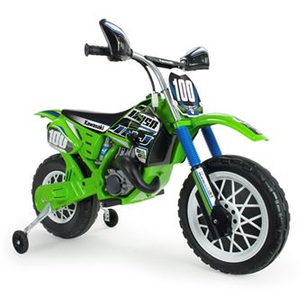 Injusa - Moto Cross Kawasaki 6V