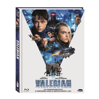Valerian y la ciudad de los mil planetas - Digibook - Blu-Ray