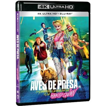Aves de Presa (y la Fantabulosa Emancipación de Harley Quinn) - UHD + Blu-ray