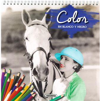 Color en blanco y negro (Azul)