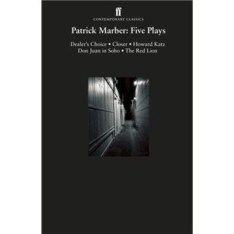 Patrick Marber: Plays