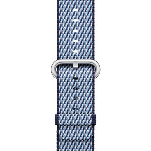 Correa Apple Watch Nailon trenzado Azul noche  (38 mm)