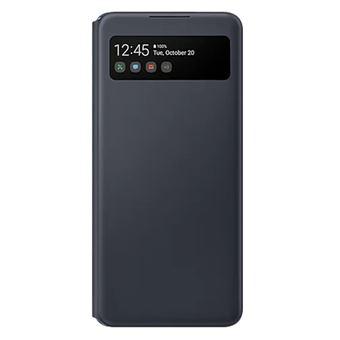 Funda Samsung S View Wallet Cover Negro para Galaxy A42 5G