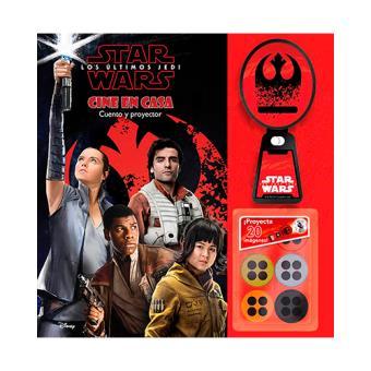 Star Wars - Los últimos Jedi - Cine en casa - Cuento con proyector