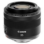 Objetivo Canon RF 35MM F1.8 Macro IS STM