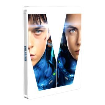 Valerian y la ciudad de los mil planetas - Steelbook Blu-Ray + 3D
