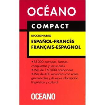 Océano compact diccionario español-francés / français-espagnol
