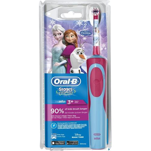 Cepillo de dientes infantil Oral B Stages Power Kids Frozen - Comprar en  Fnac dec60226ad13