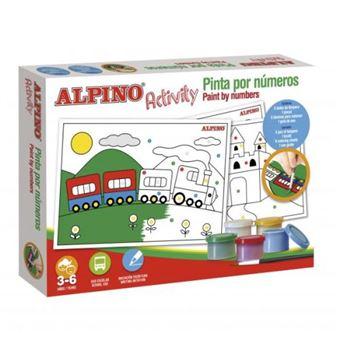 Alpino activity - Pinto por números