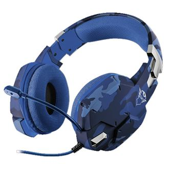Headset gaming Trust GXT 322B Carus Azul