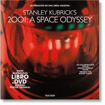 2001: Una odisea del espacio de Kubrick - Libro + DVD + Póster